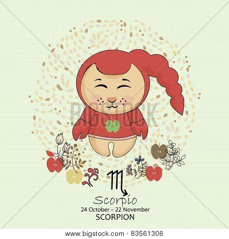 Zodiac sign - Scorpio.