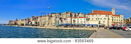 Sibenik Waterfront Architecture Panoramic View