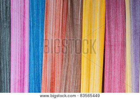 Colorful Sarongs (balinese Cloth), Bali, Indonesia