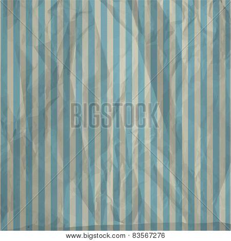 Striped creased vintage paper