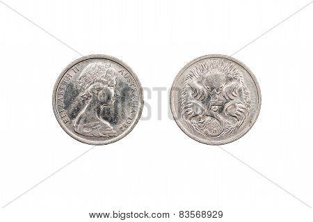 Australian Five Cents  1982