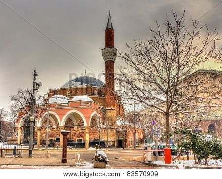 Banya Bashi Mosque In Sofia - Bulgaria