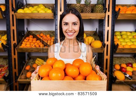 The Freshest Tangerines For You.