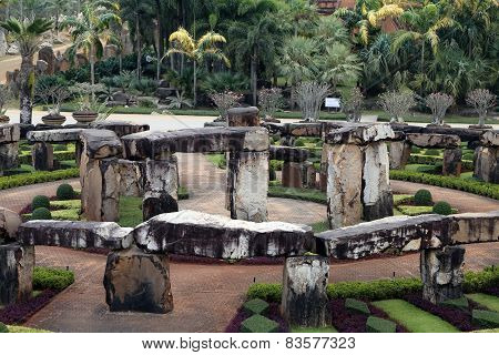 Model Of Stonehenge In Thailand