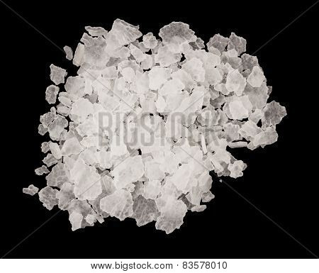 Extreme closeup of salt