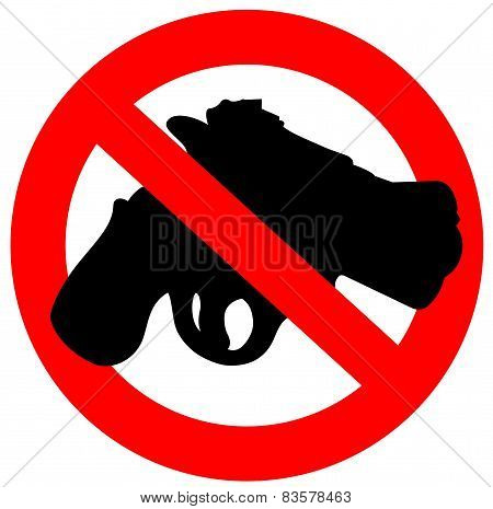 sign prohibited guns