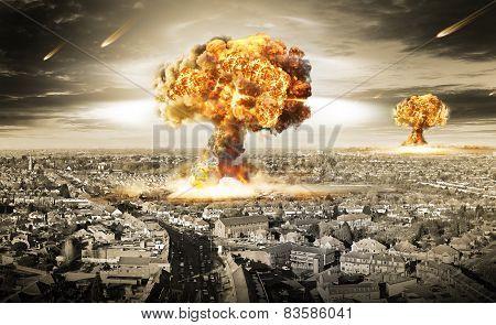 Nuclear War Atomic Bomb