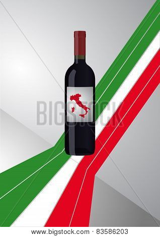 Italian Wine Bottle