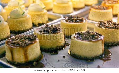 Cheesecake With Nuts  On The Cafe Storefront