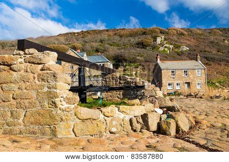 Penberth Cove Cornwall England