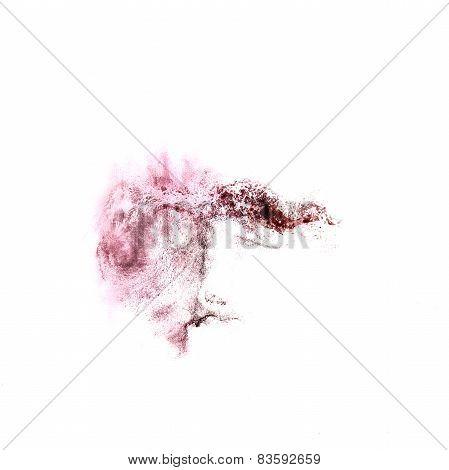 Blot divorce illustration purple, black artist of handwork is is