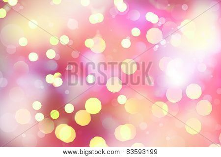 Bright Lights on colorful background. abstract silver background with texture, holiday bokeh. Abstra