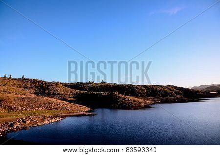 Dark Water Lake in Gran Canaria
