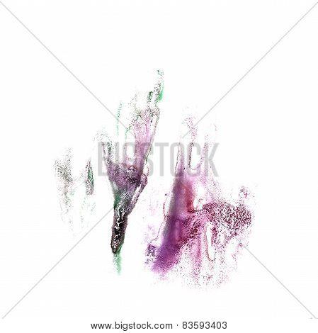 Blot divorce purple, black illustration artist of handwork is is