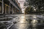 picture of morning  - Morning Cobblestones along rue de St - JPG