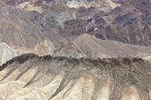 stock photo of arid  - the hottest arid desert in the USA - JPG