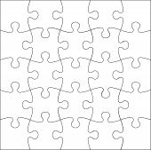 pic of jigsaw  - The Background Vector Illustration jigsaw  a puzzle - JPG