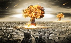 stock photo of doomsday  - Nuclear war  - JPG