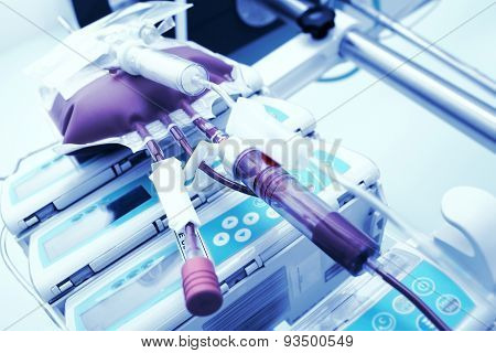Transfusion Of Blood In The Intensive Care