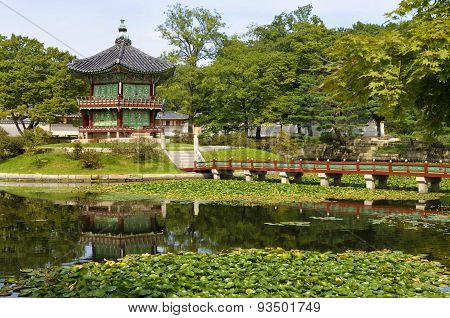 Gyeongbok Palace Pagoda, Seoul, Korea