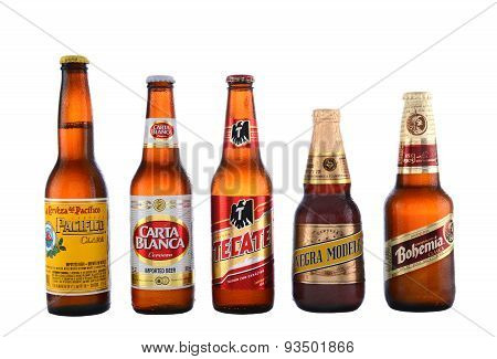 Five Popular Mexican Beers