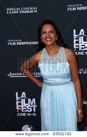 LOS ANGELES - JUN 10:  Shalini Kantayya at the