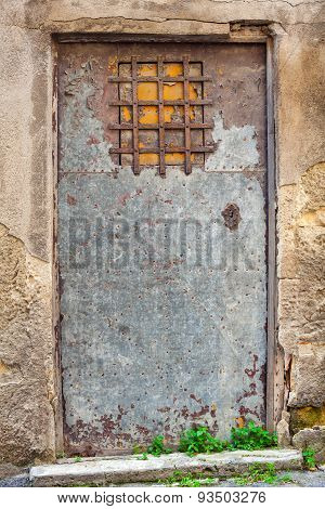 Old Iron Door