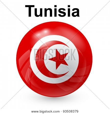 State flag of Tunisia