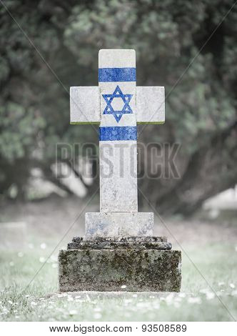 Gravestone In The Cemetery - Israel