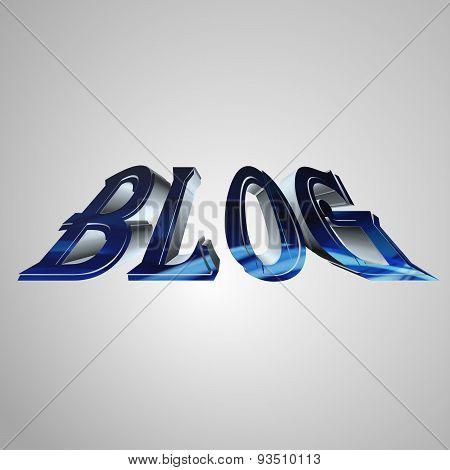 3D Text Blog