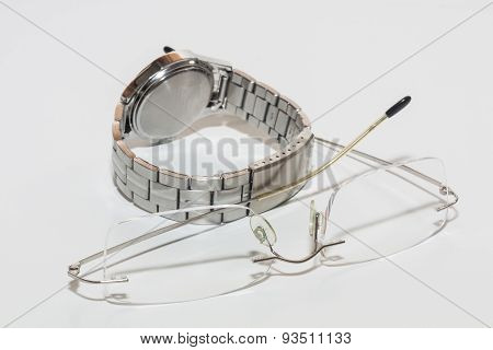 Watch and Eyeglass