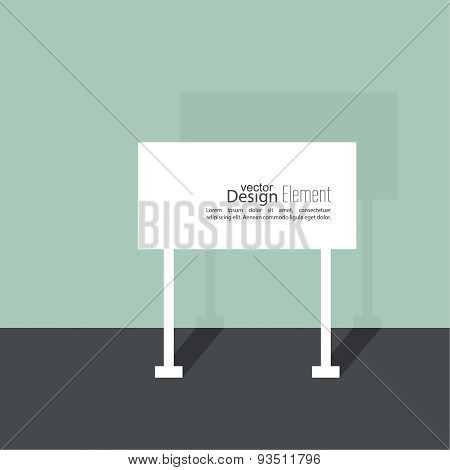 Abstract  background with  signs.