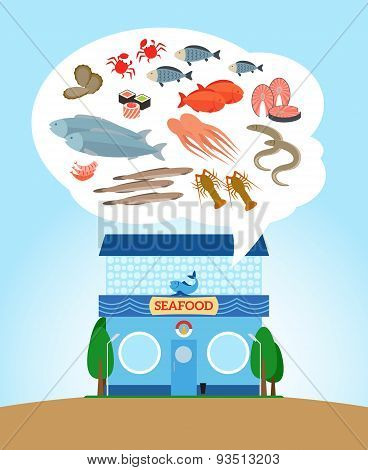 Seafood store