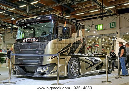 Scania Chimera Show Truck Of Swempas On Display