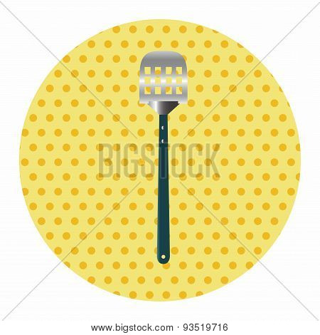 Barbecue Equipment Clip And Fork Theme Elements