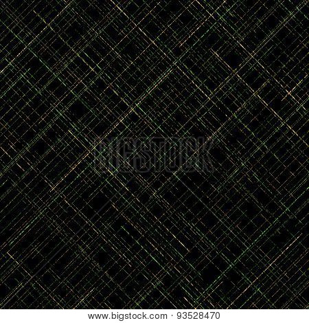 Abstract scratched  background. Plaid Fabric texture. Random lines. Contrast colors. Abstract.
