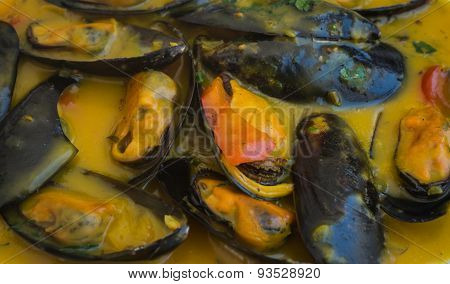 Mussels In Lemon-mustard Sauce
