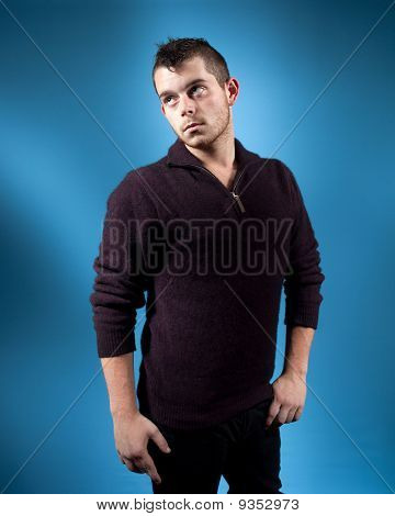 Man In Sweater