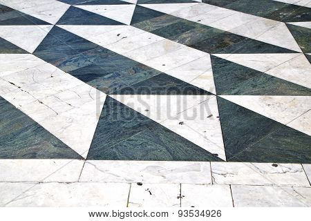 Lombardy Italy   Pavement Of A Curch And Marble