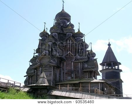 View on the Church of the Transfiguration, Kizhi