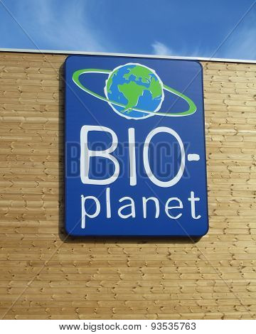 Organic Supermarket Logo