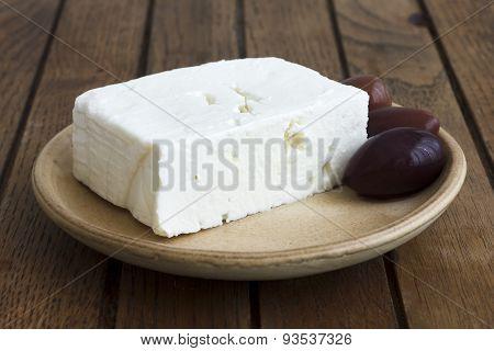 Greek feta cheese.