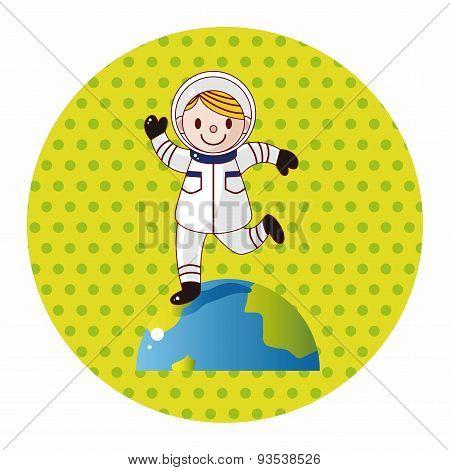 Space Astronaut Theme Elements