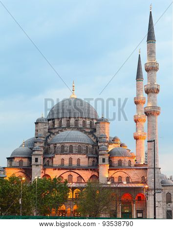 New Mosque (Yeni Camii). Istanbul, Turkey