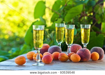 Apricots And Wine