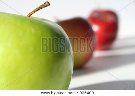 Green Apple Macro
