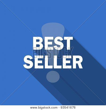 best seller flat icon