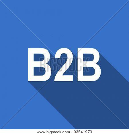 b2b flat icon