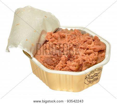 Foil Pack Of Dog Food