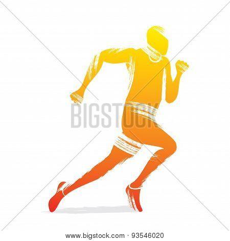 running men design